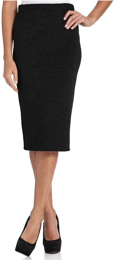 Elementz Skirt, Pull-On Knit Pencil