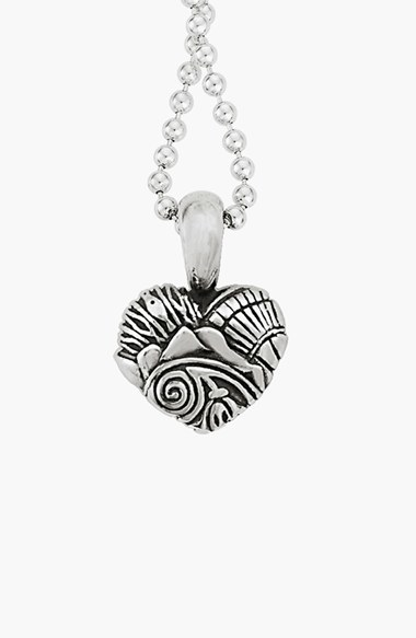 Lagos Women's 'Hearts Of Seattle' Reversible Pendant Necklace