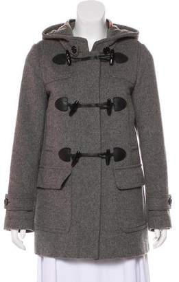 Burberry Short Wool Coat