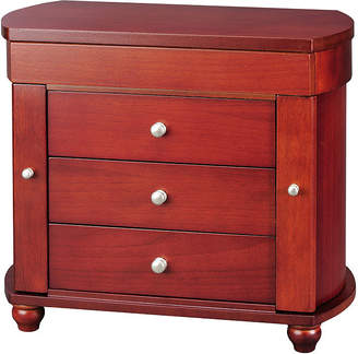 FINE JEWELRY Walnut 3-Drawer Jewelry Box