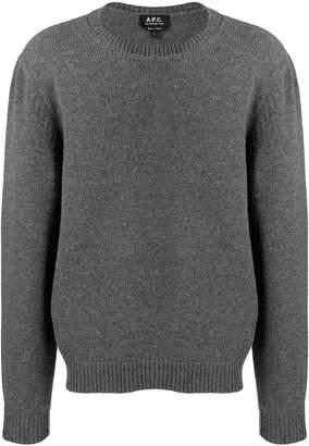 A.P.C. round neck jumper