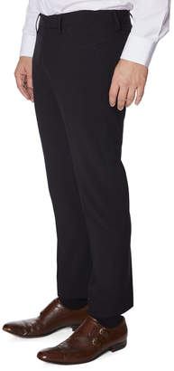 Buffalo David Bitton Mens Men's Five-Pocket Straight-Leg Pants, Black