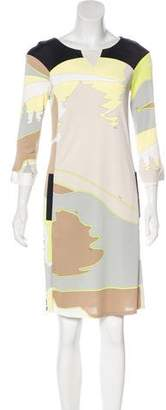 Emilio Pucci Printed Jersey Dress