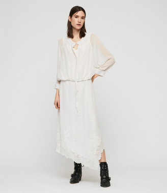 AllSaints Rhea Ebony Dress