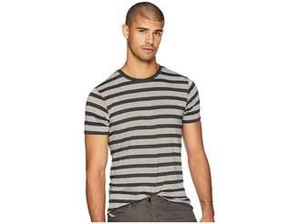 Scotch & Soda Crew Neck T-Shirt w/ Ausbrenner Wash