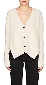Proenza Schouler Women's Rib-Knit Cotton-Blend Cardigan-Beige, Tan