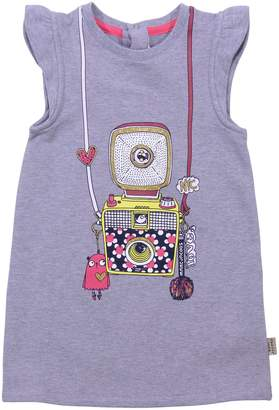 Little Marc Jacobs Grey Cotton Jersey T-shirt
