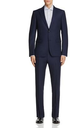 Z Zegna Solid Serge Micro Design Slim Fit Suit $1,395 thestylecure.com