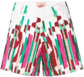 Le Sirenuse all-over print shorts