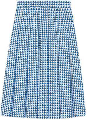 Pleated wool skirt $1,600 thestylecure.com