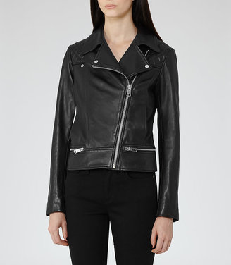 Frith Quilted Leather Biker Jacket $745 thestylecure.com