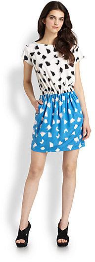 Diane von Furstenberg Odea Silk Jersey Dress