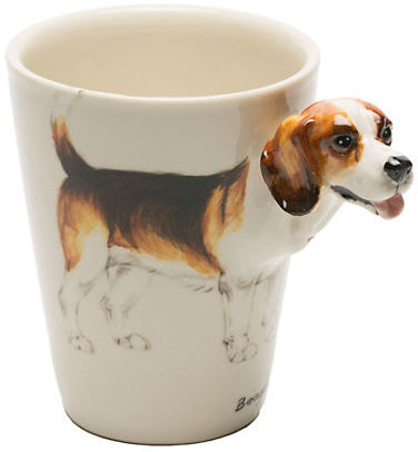 Gump's Porcelain Beagle Mug