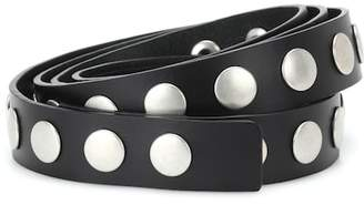 Philosophy di Lorenzo Serafini Studded leather belt