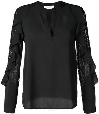 Blugirl lace detail blouse