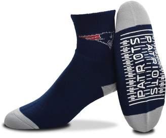 For Bare Feet Adult New EnglandPatriots Slipper Socks