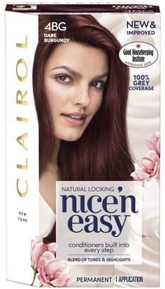 Clairol Nice'n Easy Nice'n Easy Permanent Hair Dye 4BG Dark Burgundy