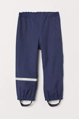 H&M Waterproof Shell Pants - Blue