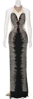 Jovani Sleeveless Maxi Evening Dress