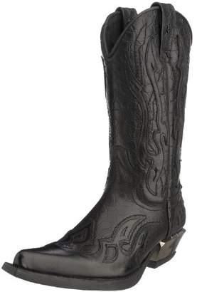 New Rock Men's M-7921-S1 Cowboy Boots, (Black), 5 6.5 UK