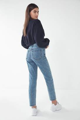 BDG High-Rise Slim Straight Jean – Acid Wash