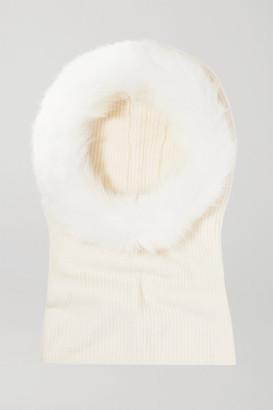 Eugenia Kim Paulina Cashmere And Faux Fur Snood - White