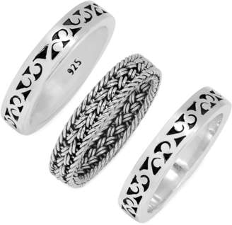 Lois Hill Triple Stacked Ring Set