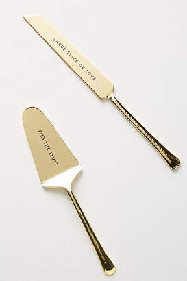 Anthropologie Pie's the Limit Servers, Set of 2
