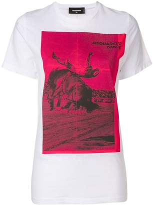DSQUARED2 Dance print T-shirt