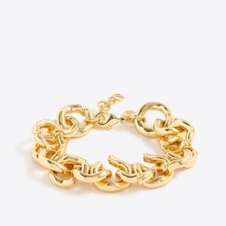 J.Crew Gold link bracelet