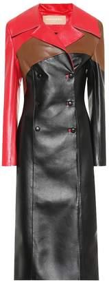 Matériel Tbilisi Faux leather coat