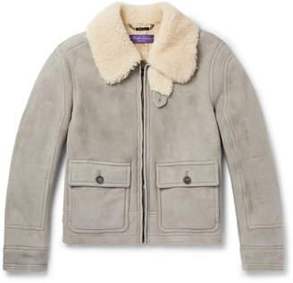 Ralph Lauren Purple Label Beedon Shearling Jacket