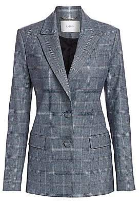 Erdem Women's Daley Glen Check Jacket