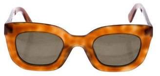 Celine Marta Small Tinted Sunglasses