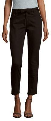 Carolina Herrera Cropped Cotton-Blend Pants