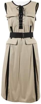 Dolce & Gabbana Khaki Cotton Dresses