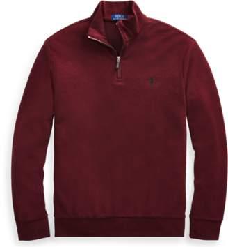 Ralph Lauren Double-Knitted Half-Zip Pullover