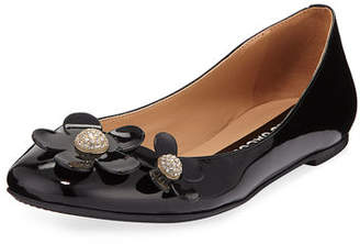 Marc Jacobs Daisy Leather Ballet Flats