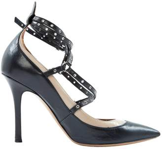 Valentino Black Leather Heels