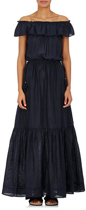 Ulla Johnson Women's Rosie Off-The-Shoulder Maxi Dress $335 thestylecure.com