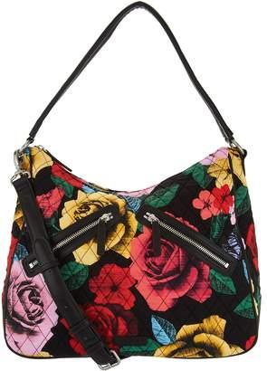72fdd5a0e7cb Vera Bradley Signature Vivian Zip Top Hobo Handbag