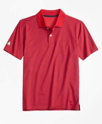 Brooks Brothers Stripe Performance Polo Shirt