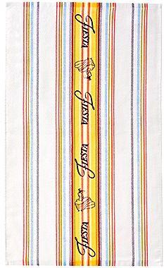 Fiesta Logo Stripe Kitchen Towel Set