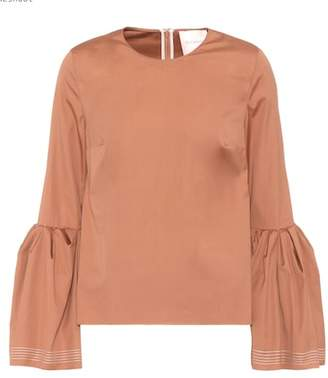 Roksanda Truffant cotton top