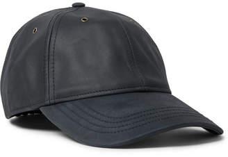 J.Crew Nubuck Baseball Cap - Storm blue