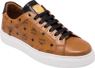 MCM Men's Classic Low Top Sneakers In Visetos