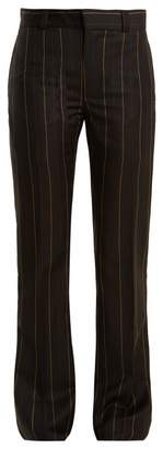 Wales Bonner Beuys pinstriped slim-leg wool trousers