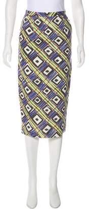 Samuji Linen Pencil Skirt w/ Tags