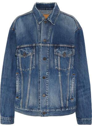 Balenciaga - Oversized Denim Jacket - Mid denim