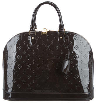 Louis Vuitton Vernis Alma GM $1,525 thestylecure.com
